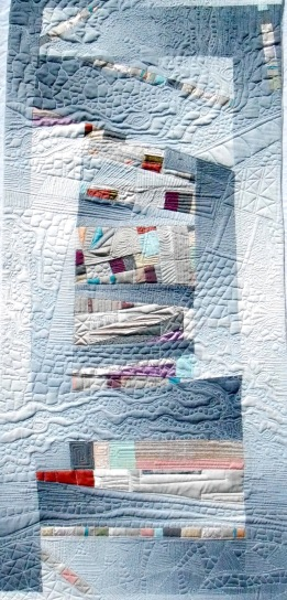 Abandoned Structure (2015). Designed/Pieced by Tierney Davis Hogan; Quilted by Betty Anne Guadalupe