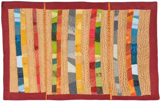 Designed and Pieced by Tierney Davis Hogan.  Quilted by Betty Anne Guadalupe.